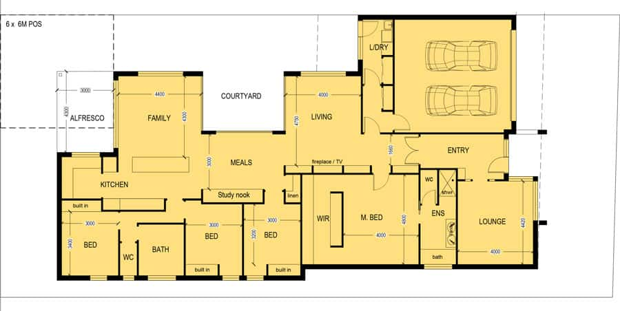 Corner block house plans 28 images house plan review for Corner block home designs